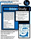 Lutheran East Alumni Bible Study image