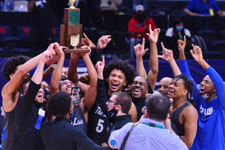 Falcon Boys' Basketball Are 2021 State Champions