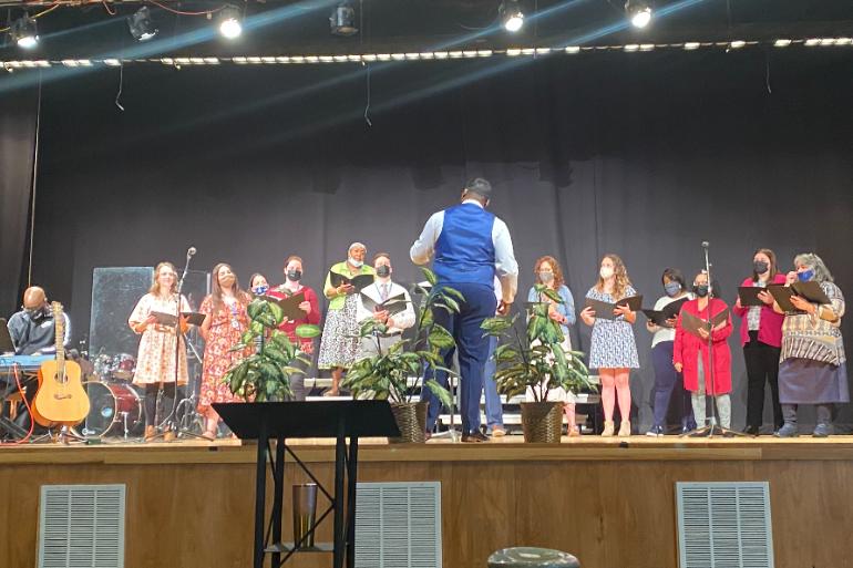 Lutheran East Begins Faculty Choir