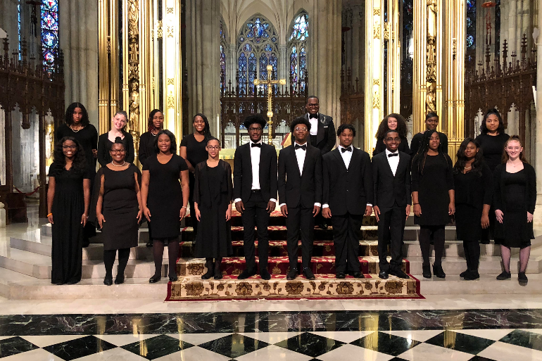 Schola Cantorum Performs in NYC