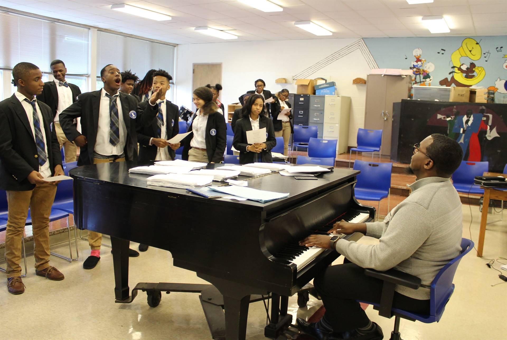 Gospel-Choir-Rehearsal
