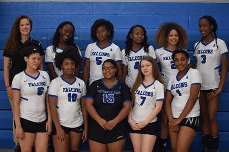 2017 Lutheran East Varsity Volleyball Team