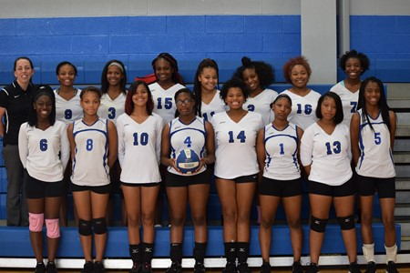 2017 Junior Varsity Volleyball Team